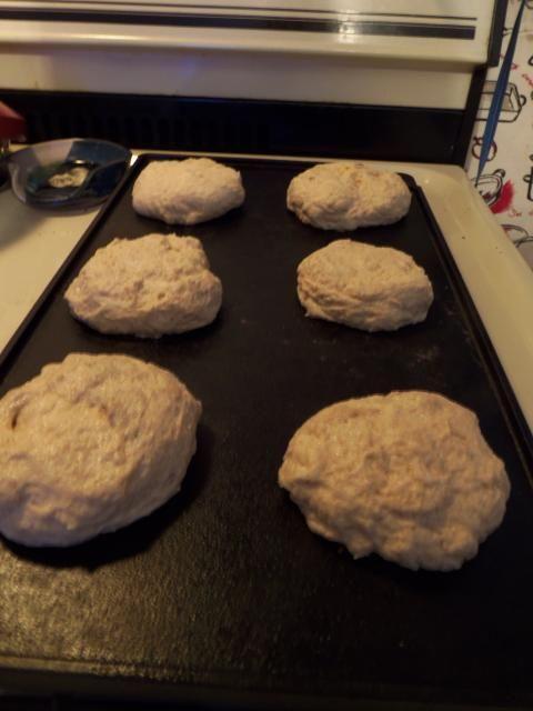 Trim Healthy Mama Sourdough Bread  THM E Sourdough English Muffins