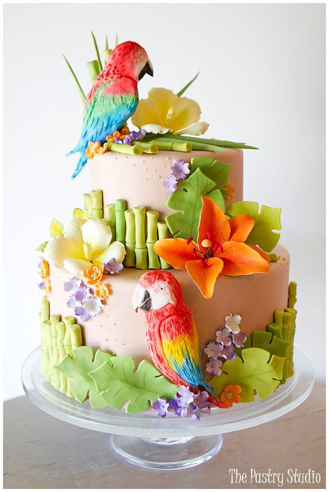 Tropical Wedding Cakes  tropical wedding cakes