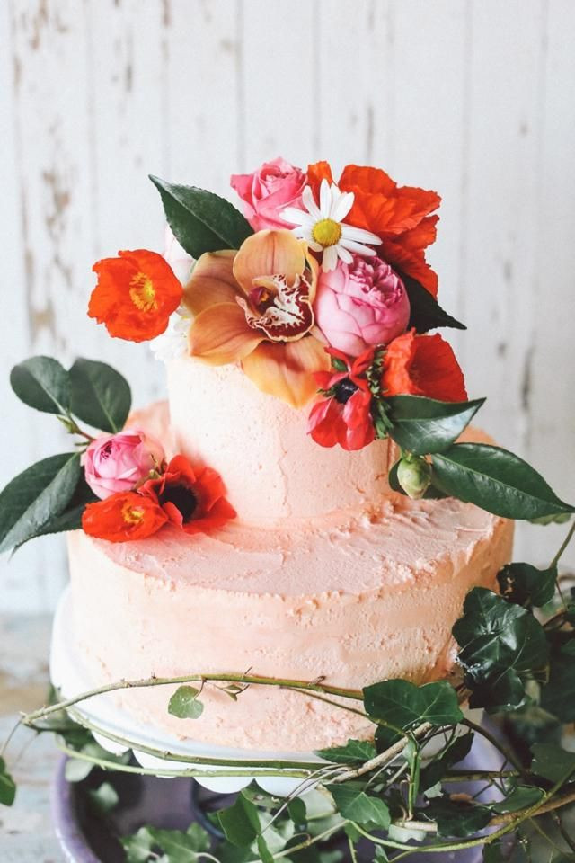 Tropical Wedding Cakes  Tropical Wedding Inspiration