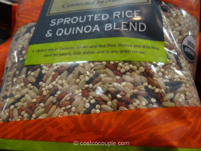 Truroots Organic Sprouted Rice And Quinoa Blend Bag 3 Lbs  TruRoots Organic Sprouted Rice and Quinoa Blend
