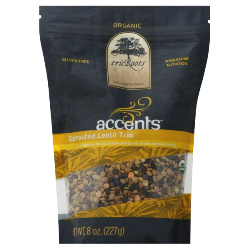 Truroots Organic Sprouted Rice And Quinoa Blend Bag 3 Lbs  Amazon truRoots Organic Germinated Brown Rice 14