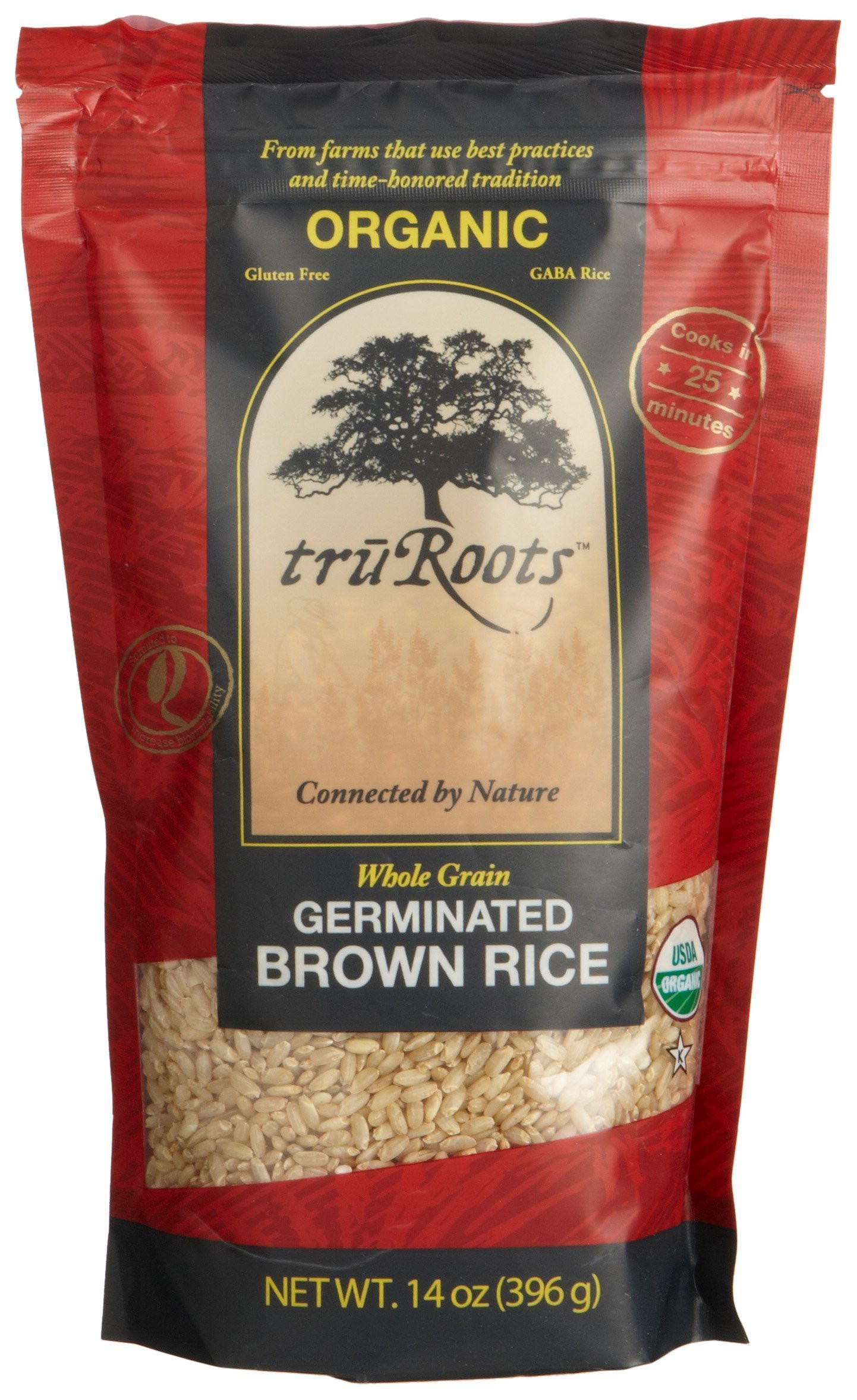 Truroots Organic Sprouted Rice And Quinoa Blend Bag 3 Lbs  Truroots Sprouted Quinoa Trio Organic 8 Ounce Amazon