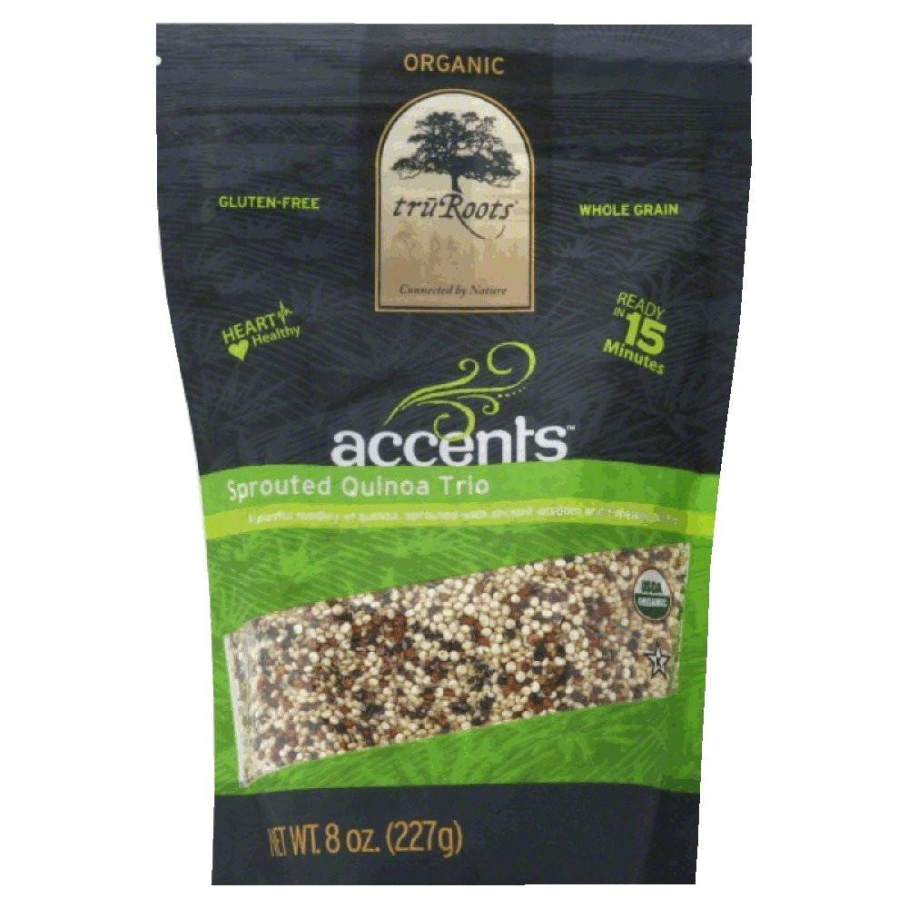 Truroots Organic Sprouted Rice And Quinoa Blend Bag 3 Lbs  Amazon truRoots Organic Sprouted Rice and Quinoa