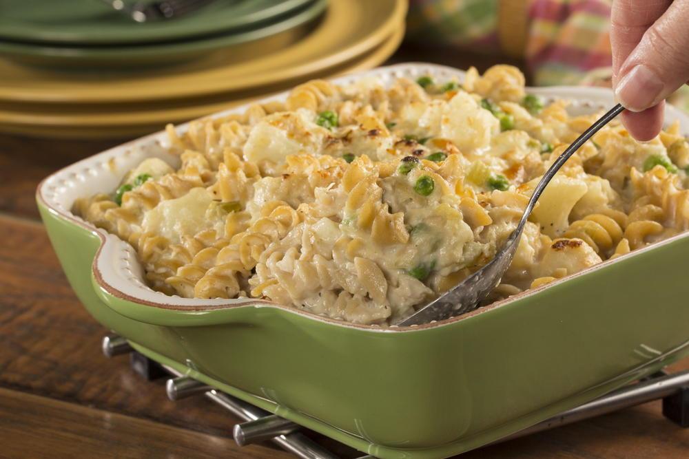 Tuna Casserole Recipe Healthy  Cheesy Tuna Casserole