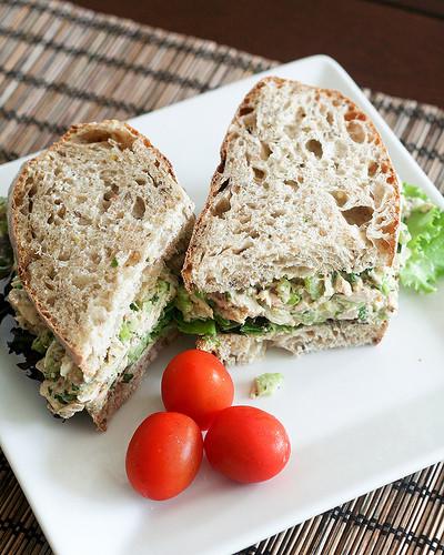 Tuna Sandwiches Healthy  Simple Tuna Fish Sandwich