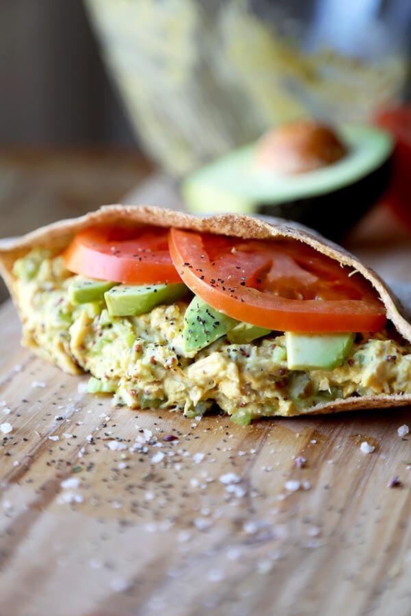 Tuna Sandwiches Healthy  The Best Healthy Tuna Sandwich Recipe Pickled Plum Food