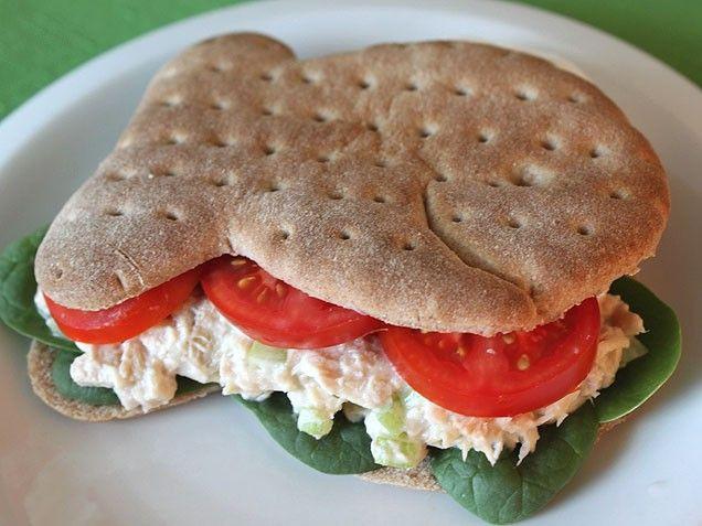 Tuna Sandwiches Healthy  17 Best ideas about Healthy Tuna Sandwich on Pinterest