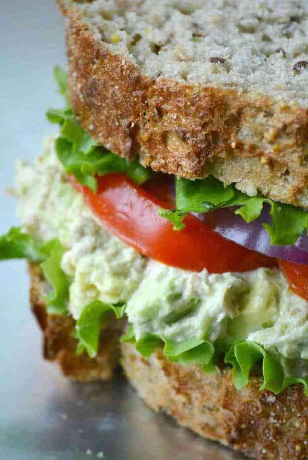 Tuna Sandwiches Healthy  Heart Healthy Tuna Avocado Salad Sandwich