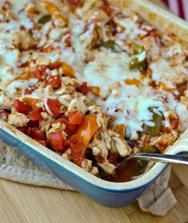 Turkey Casserole Healthy  Healthy Stuffed Pepper Casserole Rachel Cooks