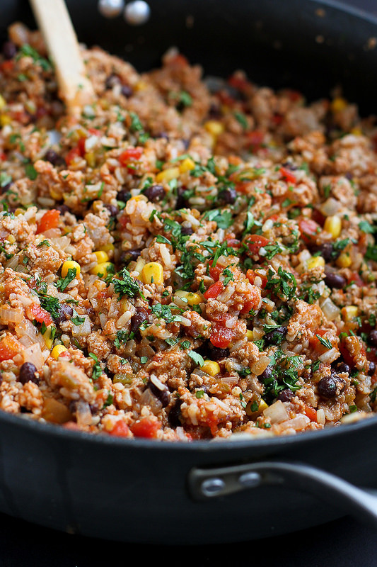 Turkey Casserole Healthy  Southwestern Turkey Rice Casserole Recipe Cookin Canuck