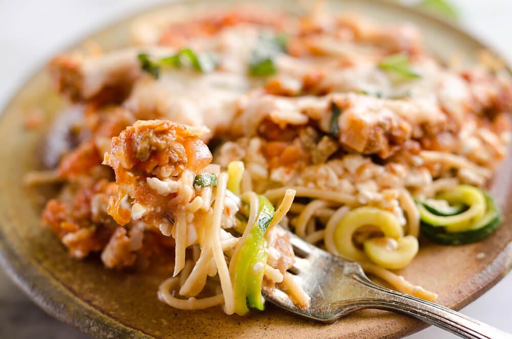 Turkey Casserole Healthy  Light Turkey Noodle Casserole Healthy Dinner Idea