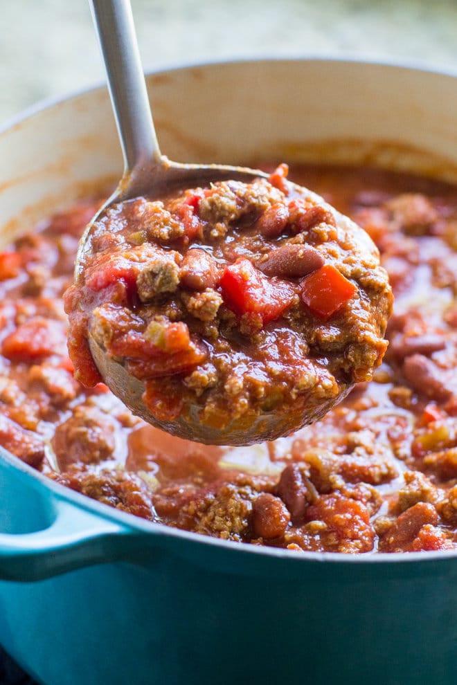 Turkey Chili Recipe Healthy  healthy ground turkey chili