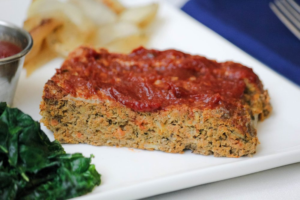 Turkey Meatloaf Healthy  Healthy Turkey Meatloaf Recipe with LOTS of Hidden Ve ables