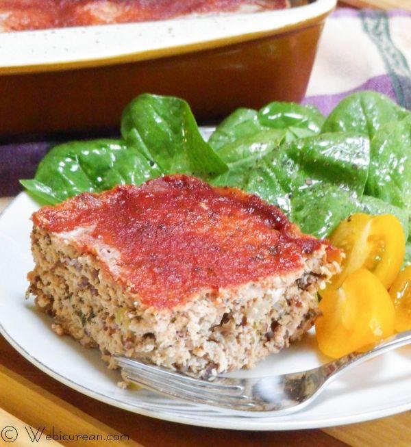 Turkey Meatloaf Healthy  Heart Healthy Turkey Meatloaf