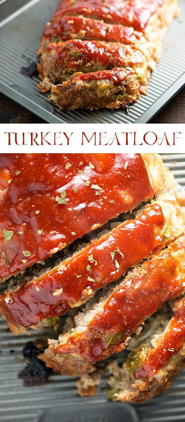 Turkey Meatloaf Recipe Healthy  Turkey Meatloaf Recipe moist and juicy healthy turkey