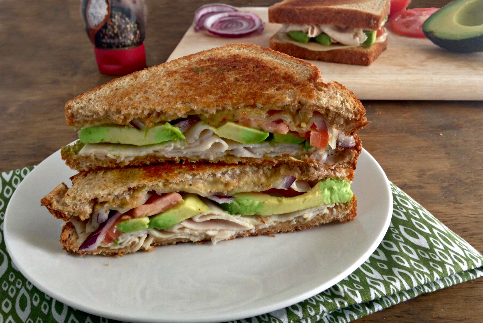 Turkey Sandwiches Healthy  Grilled Turkey Avocado Sandwiches Your Choice Nutrition