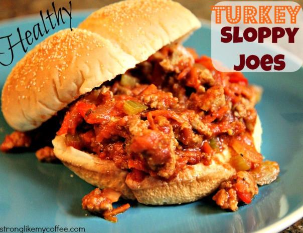 "Turkey Sloppy Joes Healthy  fort Food ""Healthy"" Sloppy Joes"