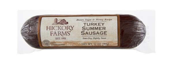 Turkey Summer Sausage  Hickory Farms Brown Sugar & Honey Recipe Turkey Summer