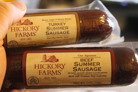 Turkey Summer Sausage  Product Reviews Hickory Farms Meats and Cheeses