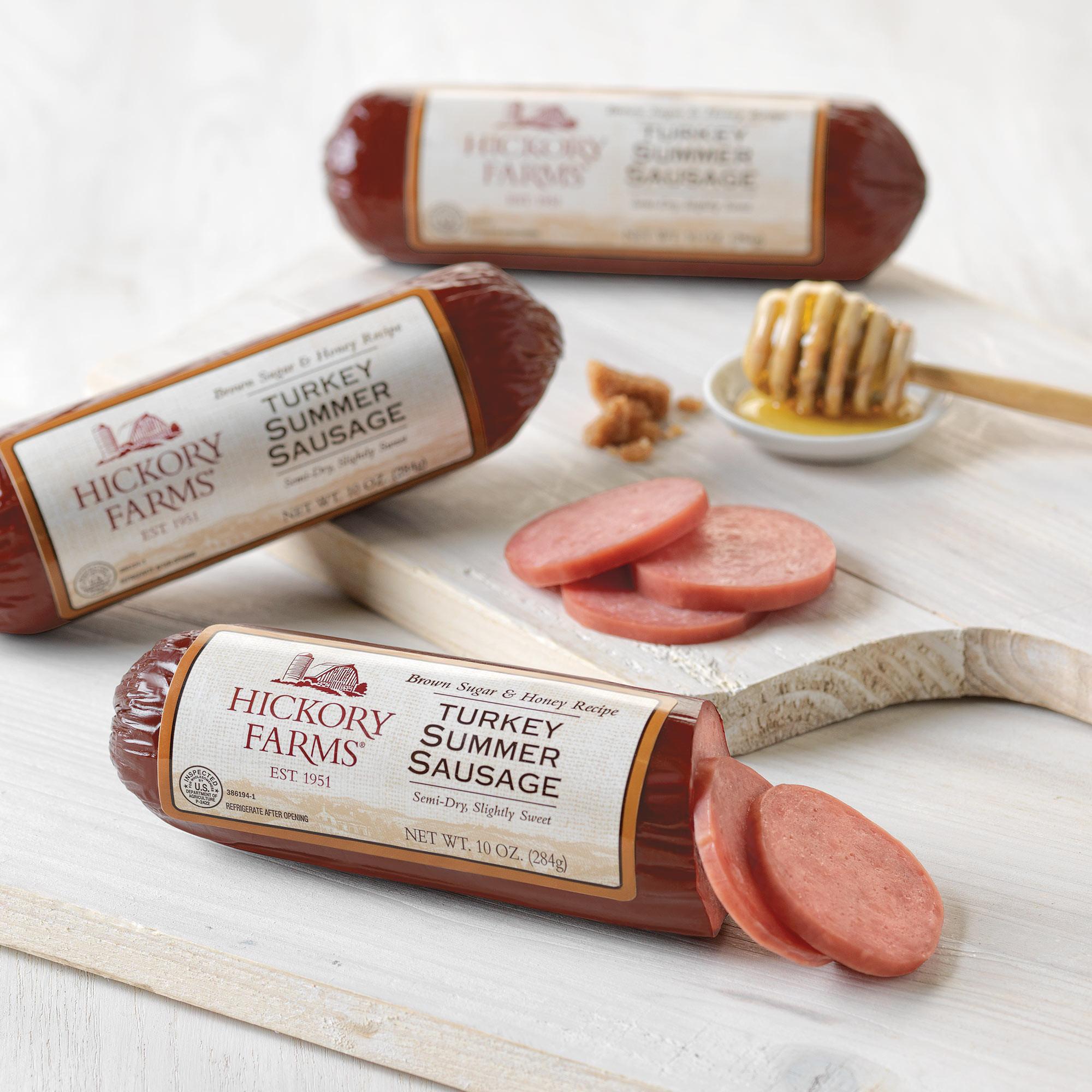 Turkey Summer Sausage  Turkey Summer Sausage 3 Pack Gift