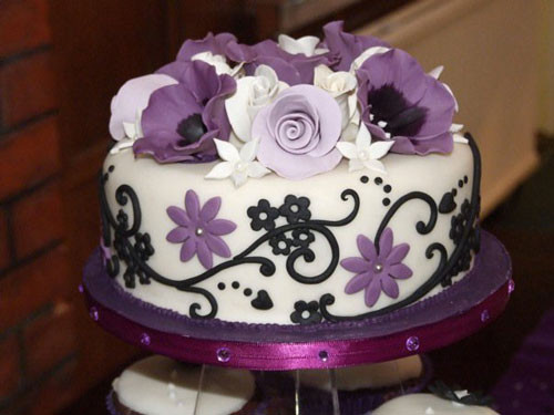Turquoise And Purple Wedding Cakes  Turquoise And Purple Wedding Cakes — CRIOLLA Brithday