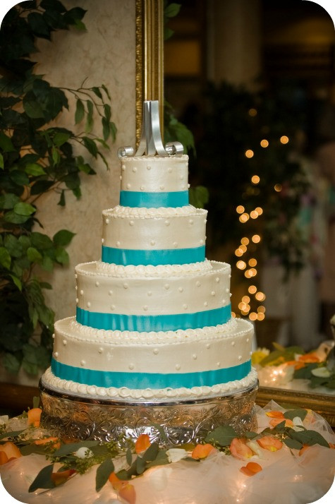 Turquoise And White Wedding Cakes  Cakes Cakes… and More Cakes Carrie with Children