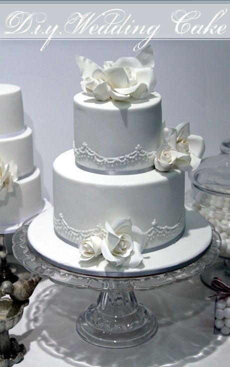 Two Tier Wedding Cakes  How to Make a Two Tier Wedding Cake with Faye Cahill