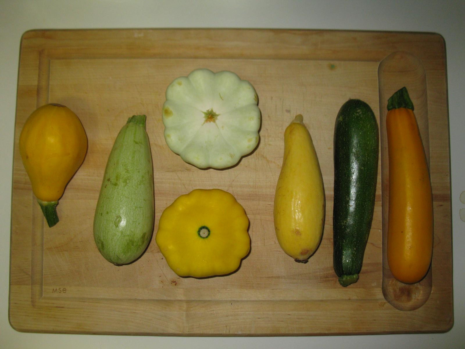 Types Of Summer Squash  Summer Squash