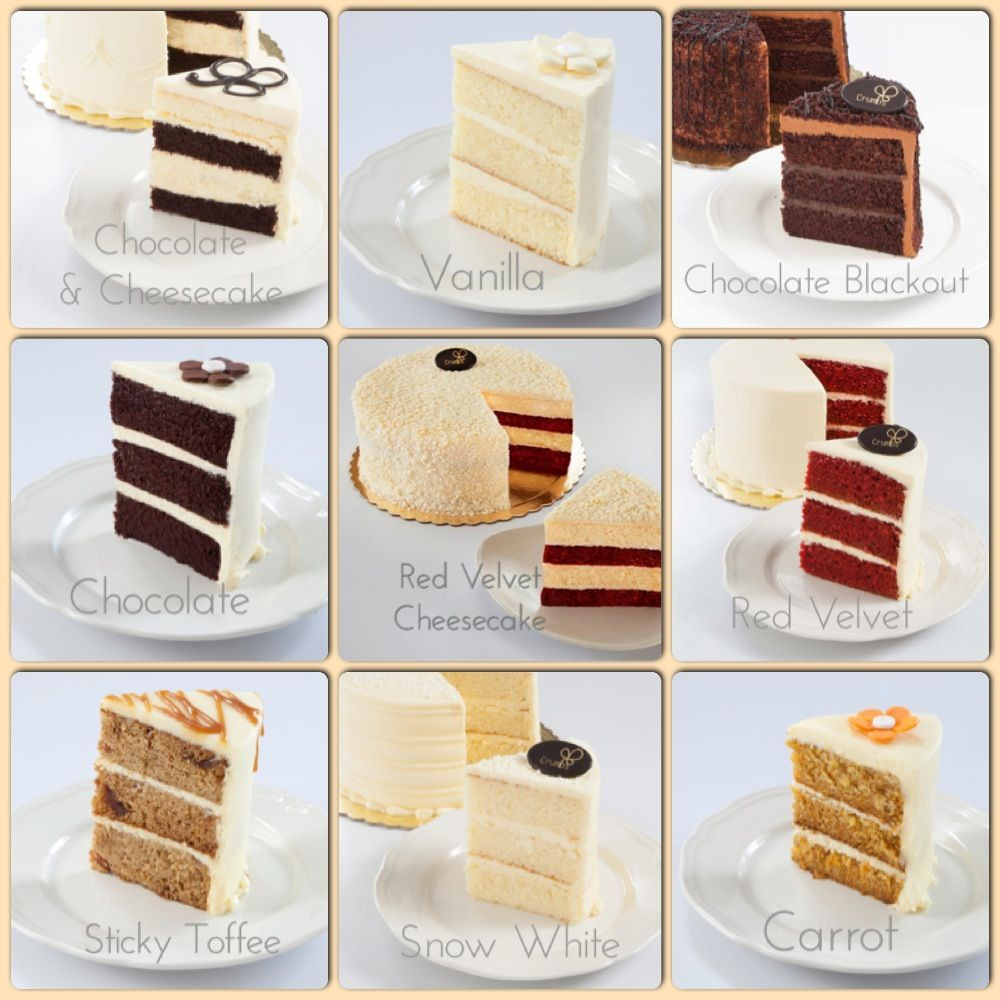 Types Of Wedding Cakes Flavors  Cake flavor options for your next celebration cake