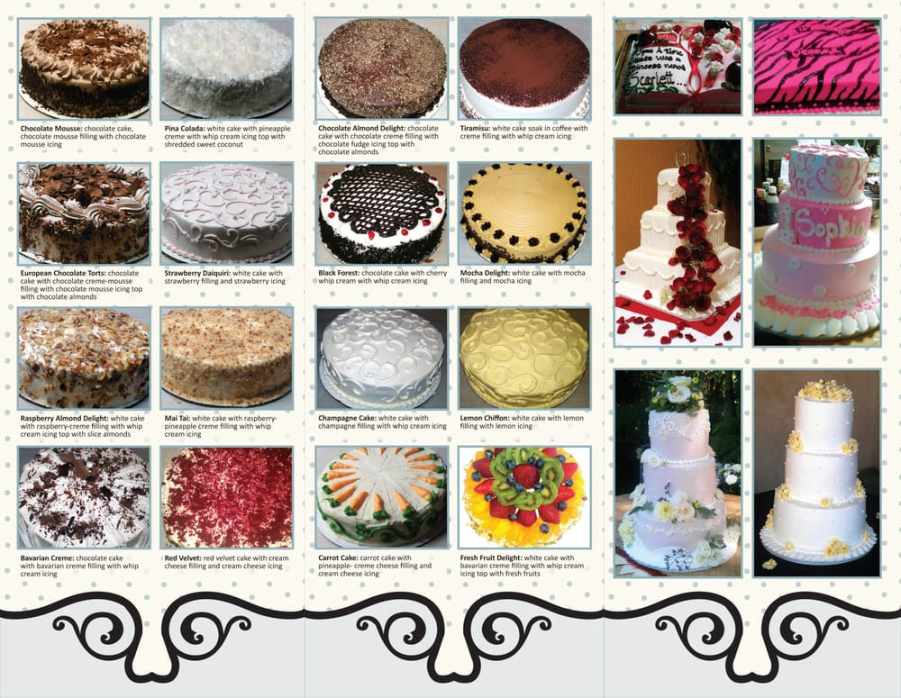 Types Of Wedding Cakes Flavors  Types Cake Flavors Cake Ideas