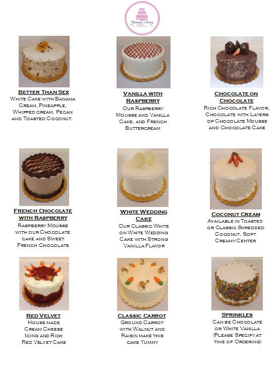 Types Of Wedding Cakes Flavors  Types of wedding cakes flavors idea in 2017