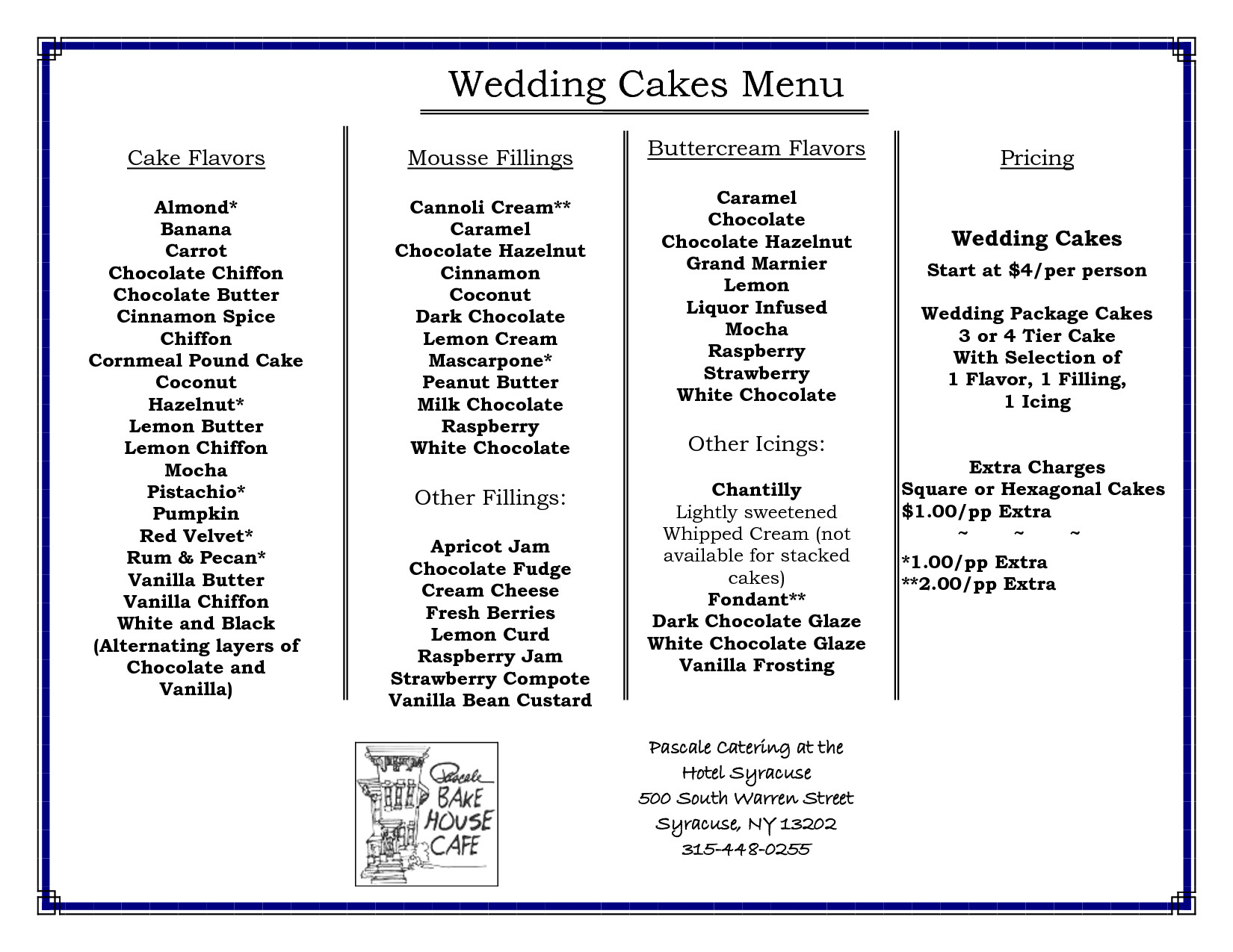 Types Of Wedding Cakes Flavors  Wedding Cake Flavors With Wedding Cake Flavors Step By