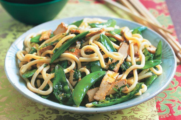 Udon Noodles Healthy  Spicy udon noodles