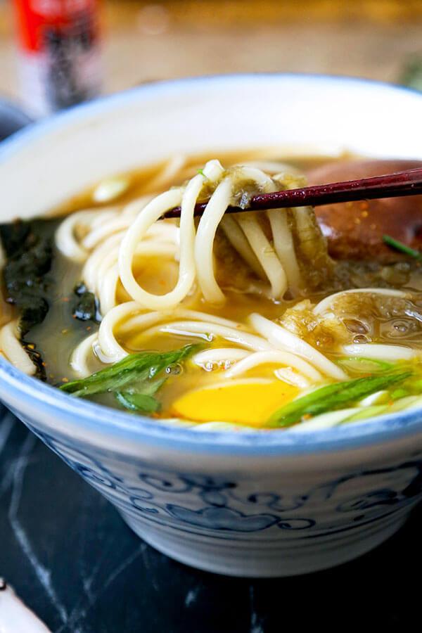 Udon Noodles Healthy  Light Udon Noodle Soup Pickled Plum Food And Drinks