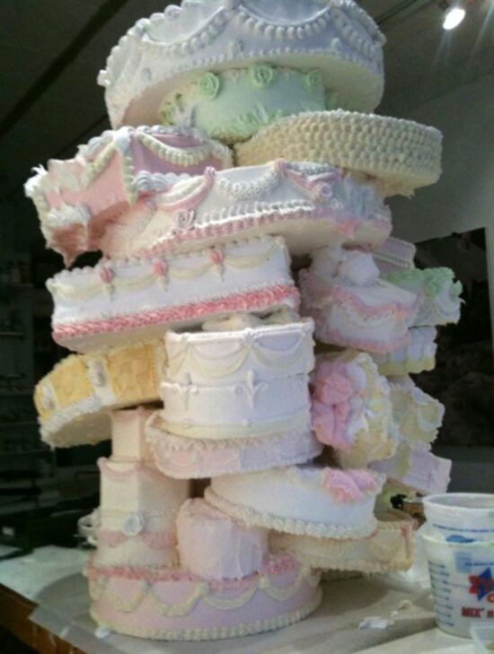 Ugliest Wedding Cakes  The 10 ugliest wedding cakes ever