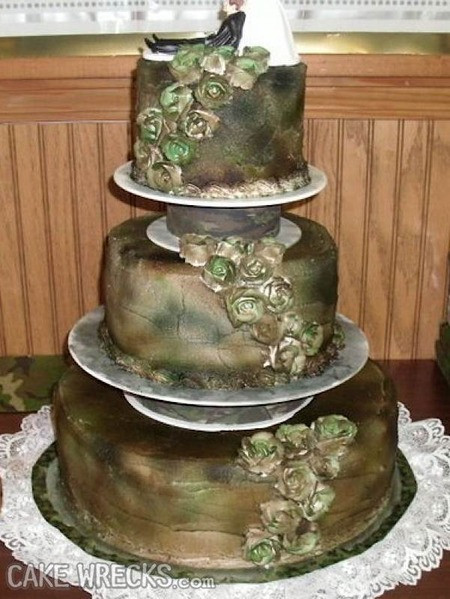 Ugliest Wedding Cakes the Best Ideas for Cake Wrecks Home 7 Seriously Ugly Wedding Cakes to