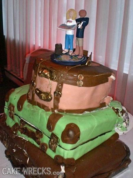 Ugly Wedding Cakes  Cake Wrecks Home The 10 Ugliest Wedding Wrecks In CW