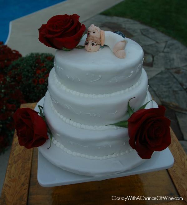 Ugly Wedding Cakes  The UGLIEST wedding cake I ve ever seen