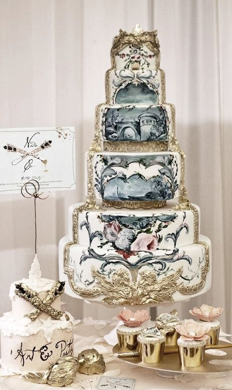 Ugly Wedding Cakes  1000 images about Ugly wedding cakes on Pinterest