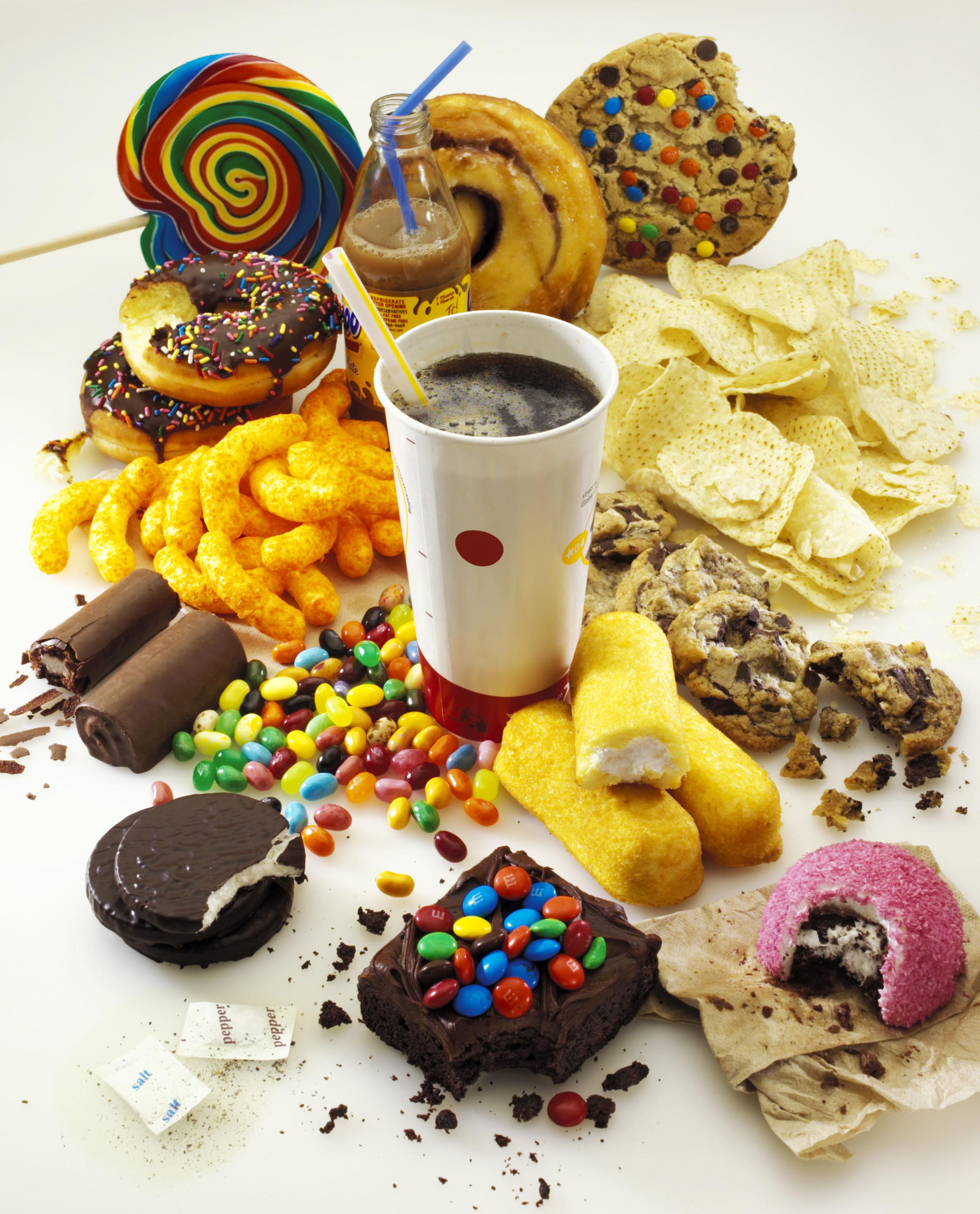 Un Healthy Snacks  Junk food ESL Resources