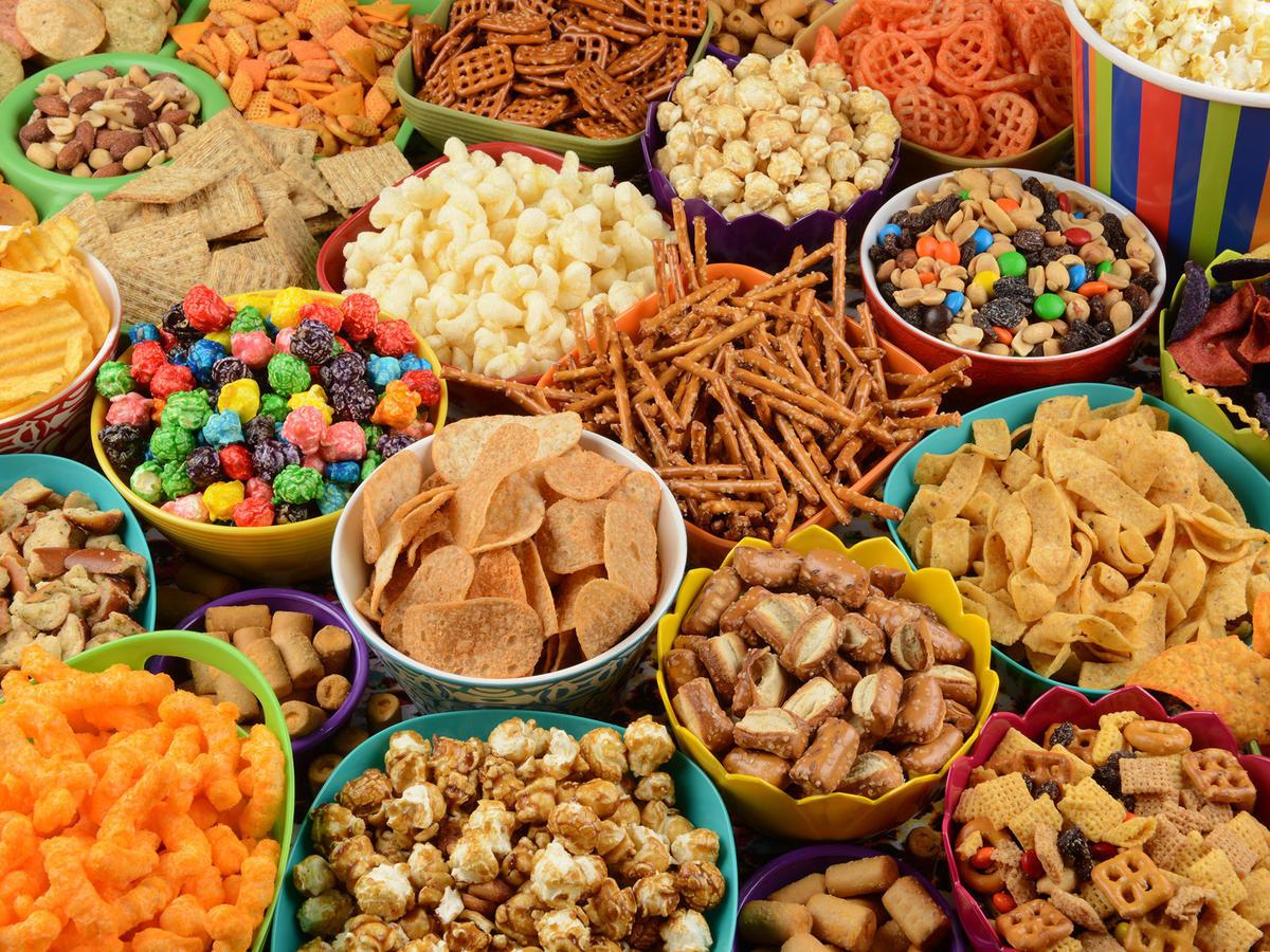 Un Healthy Snacks  Healthy Snack Recipes