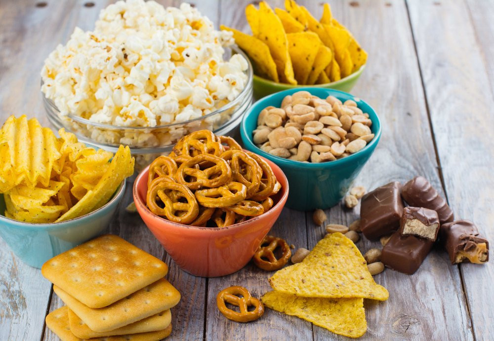 Un Healthy Snacks  Brits are spending over £30 000 on unhealthy snacks in