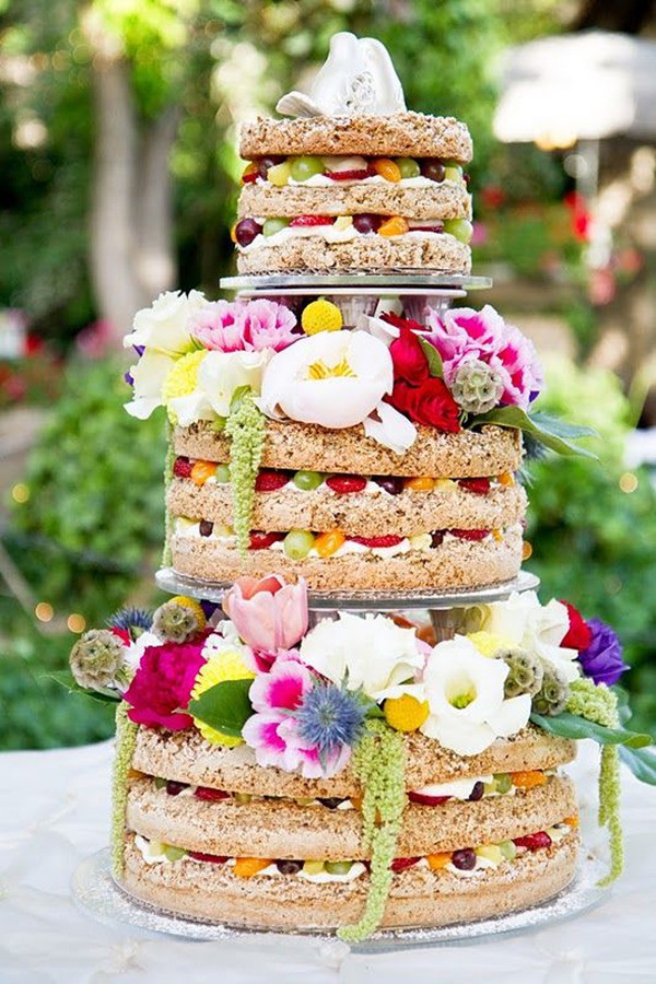 Unfrosted Wedding Cakes  Top 22 Nontraditional Wedding Cake Ideas