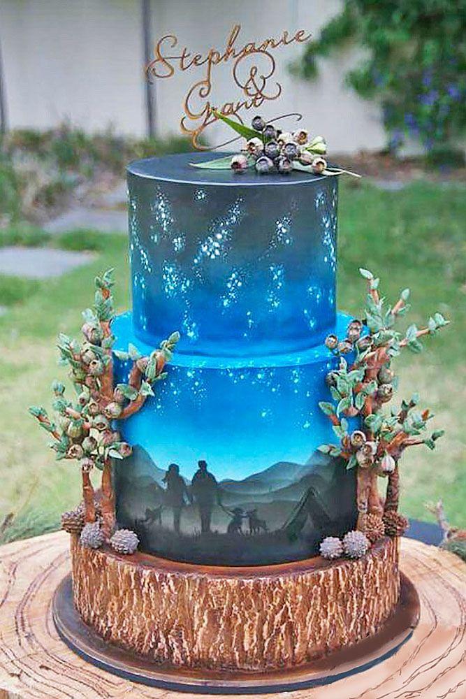 Unique Wedding Cakes Ideas  36 Eye Catching Unique Wedding Cakes