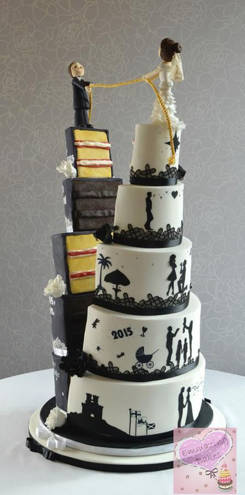 Unique Wedding Cakes  unusual wedding cakes Engagement Cakes for Your Special