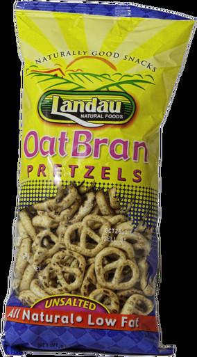 Unsalted Pretzels Healthy  Landau Oat Bran Pretzels Unsalted 8 oz Whole And Natural