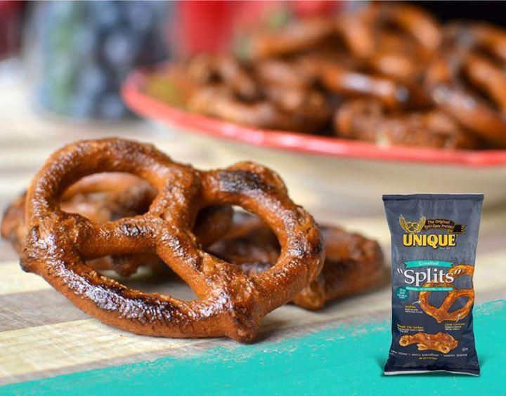 Unsalted Pretzels Healthy  Zero salt Pure pretzel flavor Unique Pretzels' Unsalted