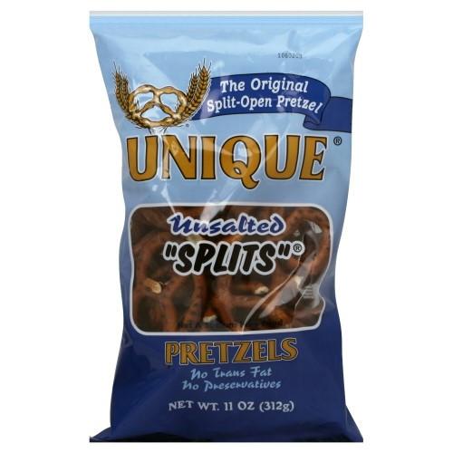 Unsalted Pretzels Healthy  Pretzels Unsalted Splits 11 Oz Pack of 12