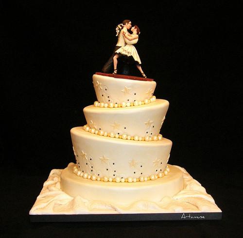 Unusual Wedding Cakes  17 Unique Wedding Cake Designs — Austin Wedding Blog