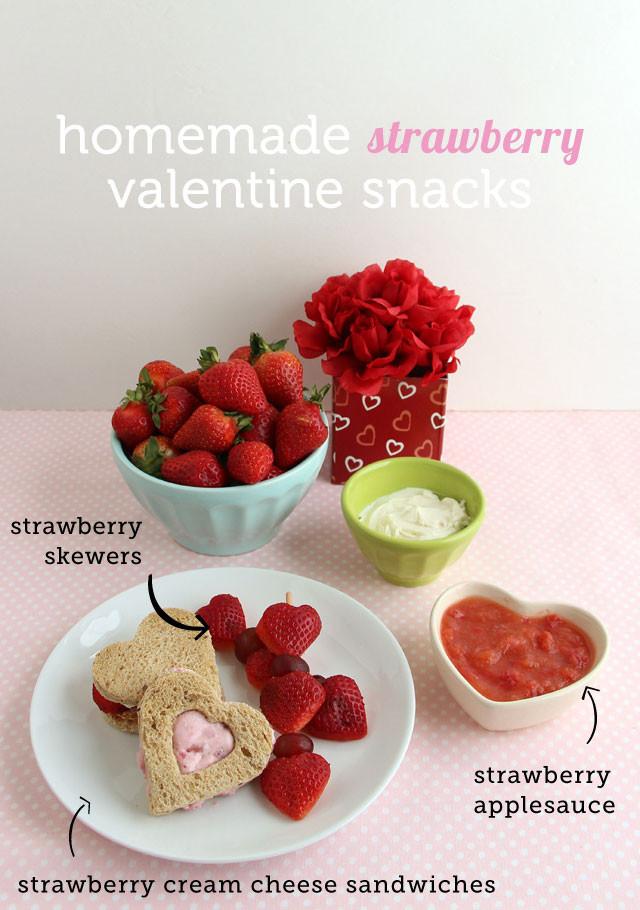 Valentine Healthy Snacks  3 Healthy Strawberry Snacks for Valentine s Day Modern